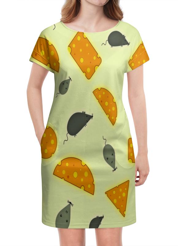 Платье летнее Printio Мышь и сыр сумка printio сыр вашему дому