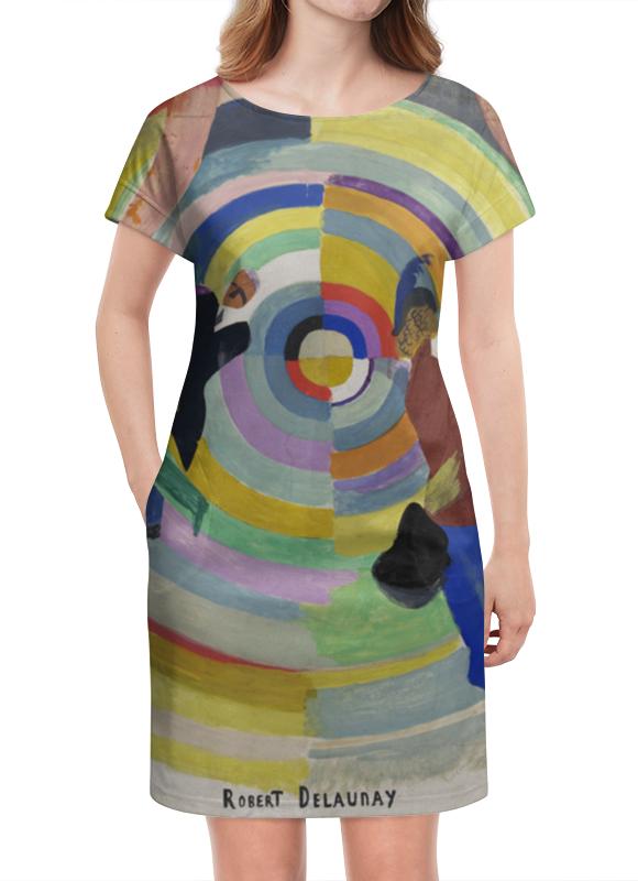 Платье летнее Printio Политическая драма ( робер делоне) николай делоне квантовая природа вещества