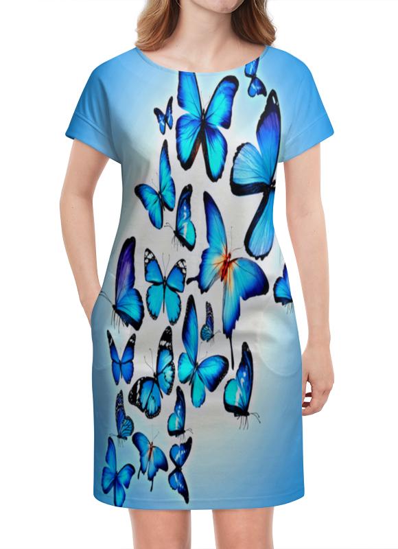 Платье летнее Printio Бабочки