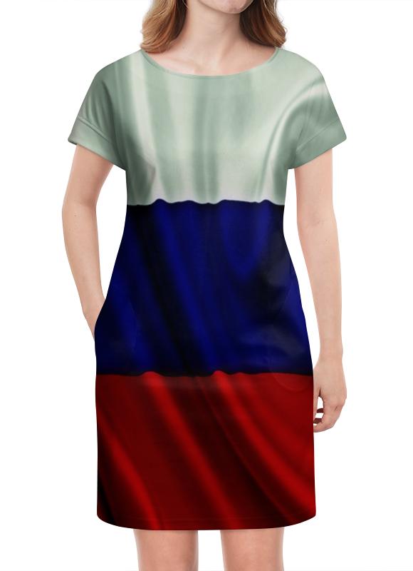Платье летнее Printio Триколор оптимум триколор купить карту где