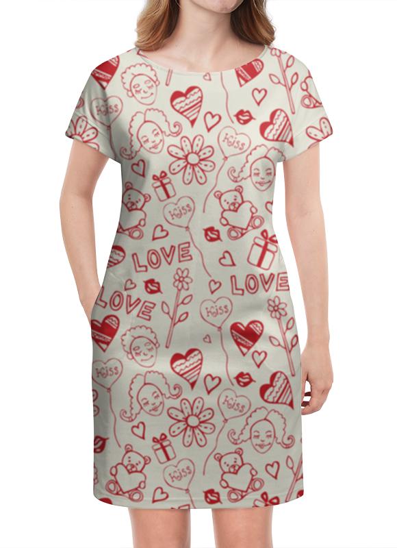 Платье летнее Printio Мечты о любви платье летнее printio мечты о любви