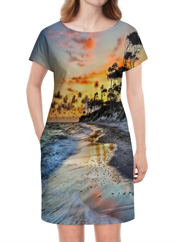Платье летнее Printio Остров