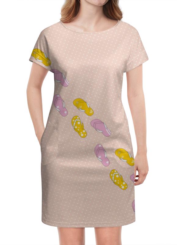 Платье летнее Printio Сланцы сланцы puma
