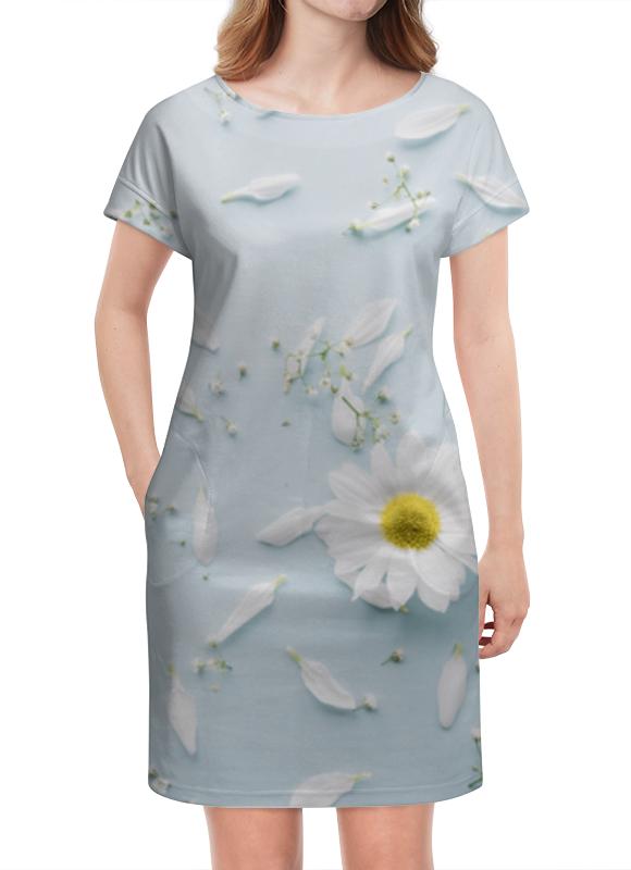 Платье летнее Printio Ромашки printio платье летнее