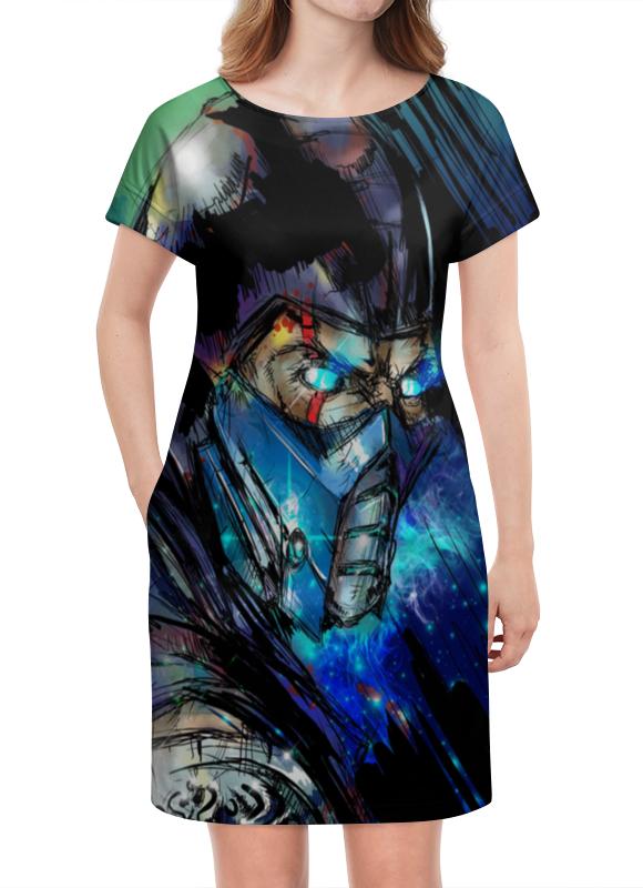 Платье летнее Printio Mortal kombat x (sub-zero) стоимость