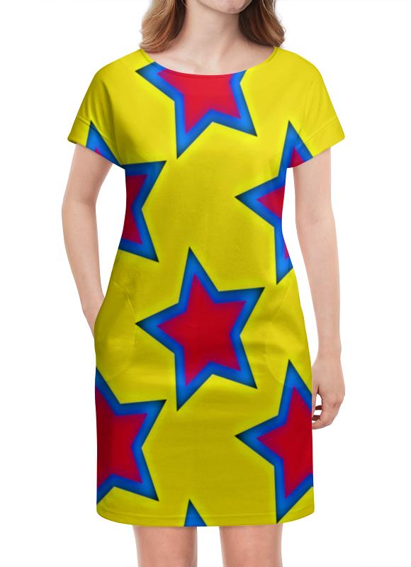Платье летнее Printio Звезды