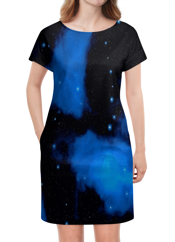 Платье летнее Printio Звездное небо картленд б звездное небо гонконга