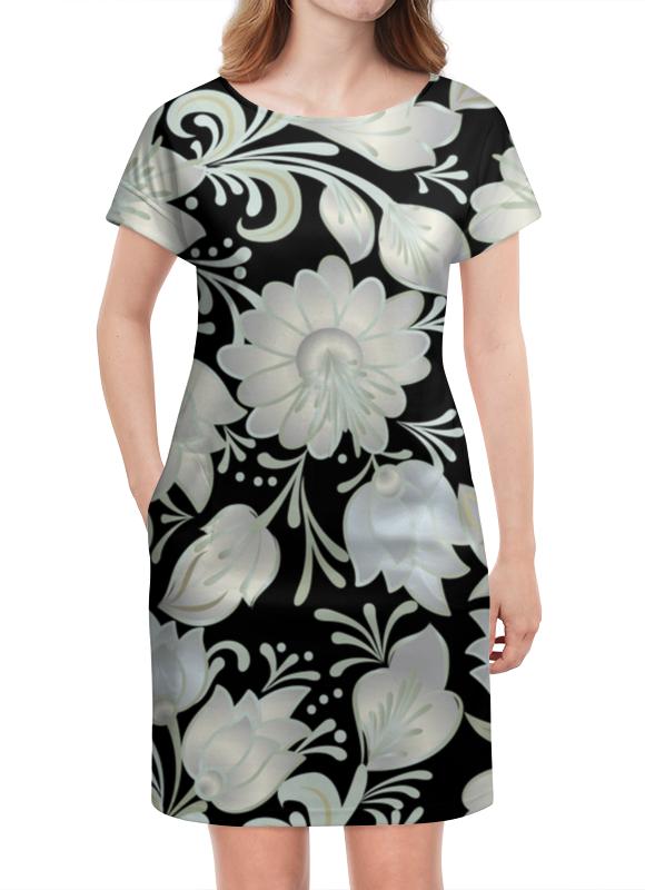 Платье летнее Printio Цветы платье летнее printio березка