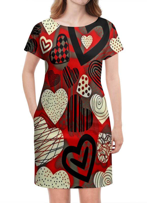 Платье летнее Printio Сердце