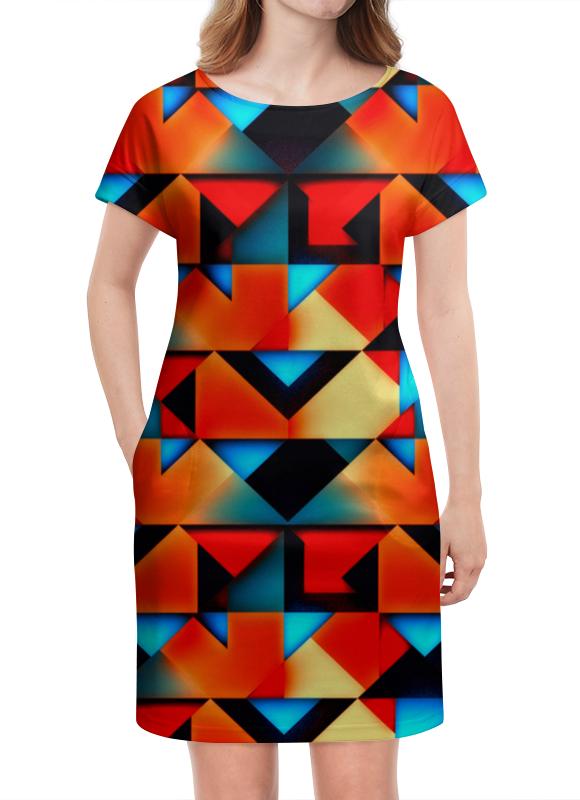 Платье летнее Printio Геометрические фигуры геометрические фигуры из гипса в донецке