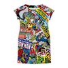 """Платье летнее """"Вселенная Marvel"""" - комиксы, marvel"""