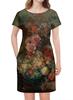 """Платье летнее """"Цветы (Ян ван Хёйсум)"""" - картина, живопись, ян ван хёйсум"""