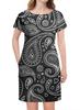 """Платье летнее """"Турецкий огурец"""" - бута, персидский кипарис, японский огурец, восточный огурец"""
