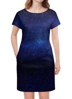 """Платье летнее """"The Spaceway"""" - звезды, космос, вселенная, одежда космос, платье космос"""