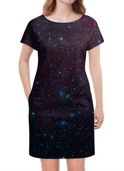 """Платье летнее """"Межзвездная"""" - космос, звезды, вселенная, галактика, thespaceway"""