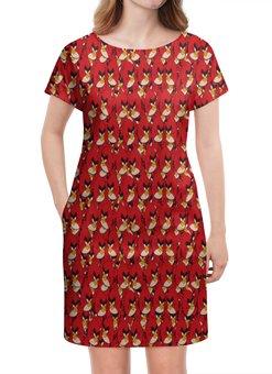"""Платье летнее """"Angry Birds"""" - птицы, птички, мульт, angry birds, энгри бёрдз"""