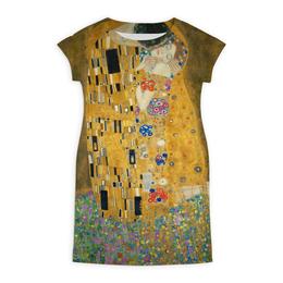 """Платье летнее """"Поцелуй"""" - картина, искусство, поцелуй, густав климт"""