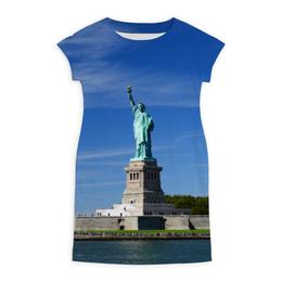 """Платье летнее """"Статуя Свободы"""" - нью-йорк, америка, статуя свободы"""