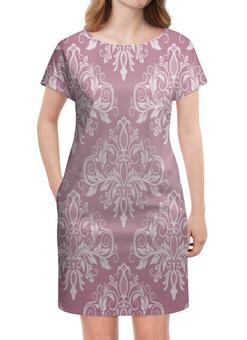 """Платье летнее """"Кружевной узор"""" - цветы, узор, листья, хохлома, роспись"""