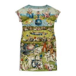 """Платье летнее """"Сад земных наслаждений"""" - картина, сад, искусство, босх"""