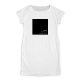 """Платье летнее """"Черный квадрат"""" - black, черный, дизайн, цвет, минимализм"""