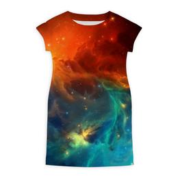 """Платье летнее """"Космическая туманность"""" - космос, фотография, звёзды, спутник, туманность"""
