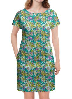 """Платье летнее """"Цветочное"""" - арт, цветы, природа, узор"""