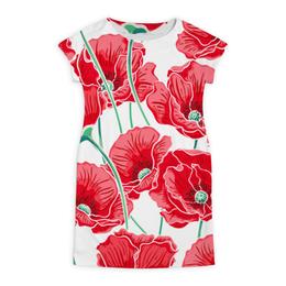 """Платье летнее """"Красные маки"""" - цветы, ярко, природа, маки, красивые цветы"""
