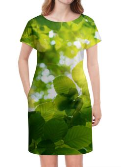 """Платье летнее """"Кусочек природы"""" - природа, лес, солнце, лето"""