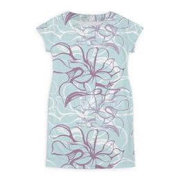 """Платье летнее """"Fantasy Lily """" - flower, fashion, pattern, line, seamless"""