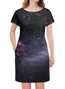 """Платье летнее """"Вселенная """" - наука, космос, вселенная, звезды, галактика"""