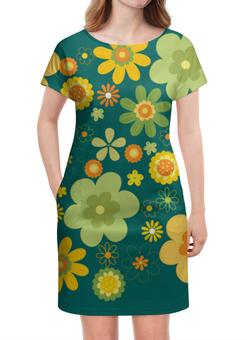 """Платье летнее """"Хиппи"""" - цветы, философия, хиппи, мировозрение"""