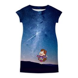 "Платье летнее ""Gravity Falls "" - гравити фолз, мэйбл пайнс"