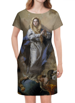 """Платье летнее """"Непорочное зачатие Девы Марии (Тьеполо)"""" - картина, тьеполо, живопись"""