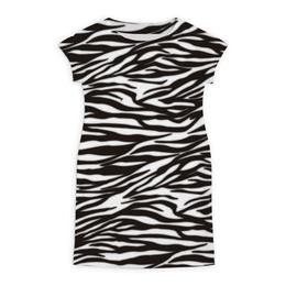 """Платье летнее """"Зебра"""" - узор, стиль, зебра, рисунок, звериный"""
