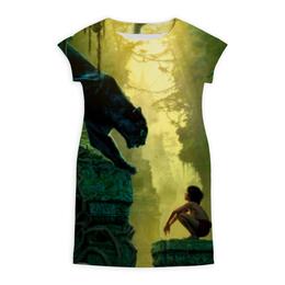 """Платье летнее """"Маугли"""" - багира, книга джунглей"""