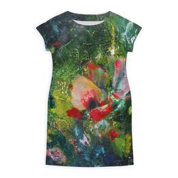 """Платье летнее """"Южный ветер"""" - яркий, фантазия, живопись, летний, сочный"""