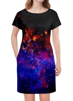 """Платье летнее """"Галактическое путешествие"""" - космос, вселенная, звезды, stars, space"""