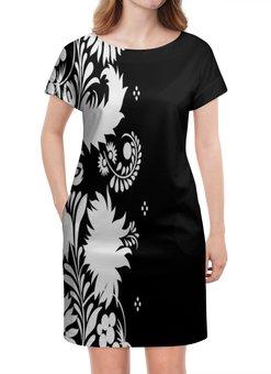 """Платье летнее """"Цветы"""" - весна, роспись, кружево, узор, цветы"""