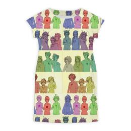 "Платье летнее ""Homrstuck gender-bender"" - арт, homestuck, terezi, karkat, gender"
