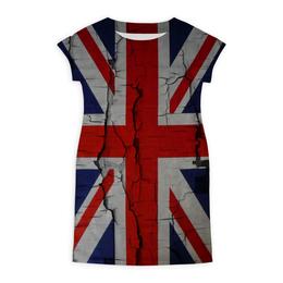 """Платье летнее """"Великобритания"""" - флаг, great britain, британский"""