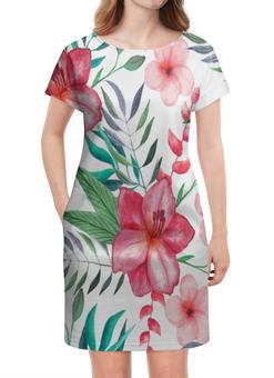 """Платье летнее """"Цветы"""" - летние платья, цветы, природа, букет, листья"""