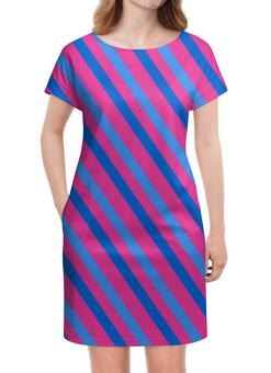 """Платье летнее """"Узор линий"""" - линии, полосы, узор, краски, графика"""