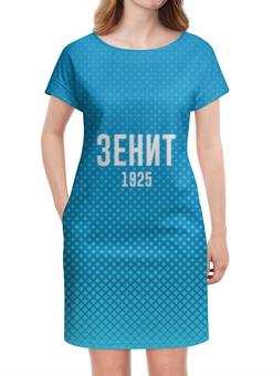 """Платье летнее """"зенит"""" - зенит, синий, путин, росси, питер капальди"""