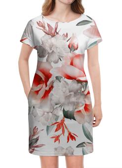 """Платье летнее """"Цветы"""" - цветы"""