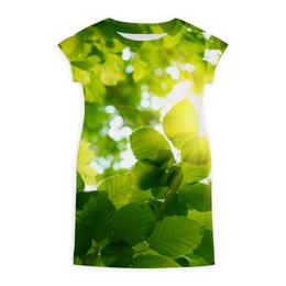 """Платье летнее """"Кусочек природы"""" - лето, солнце, лес, природа"""
