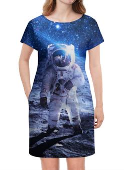 """Платье летнее """"Покоряя космос"""" - космос, звезды, вселенная, галактика, thespaceway"""