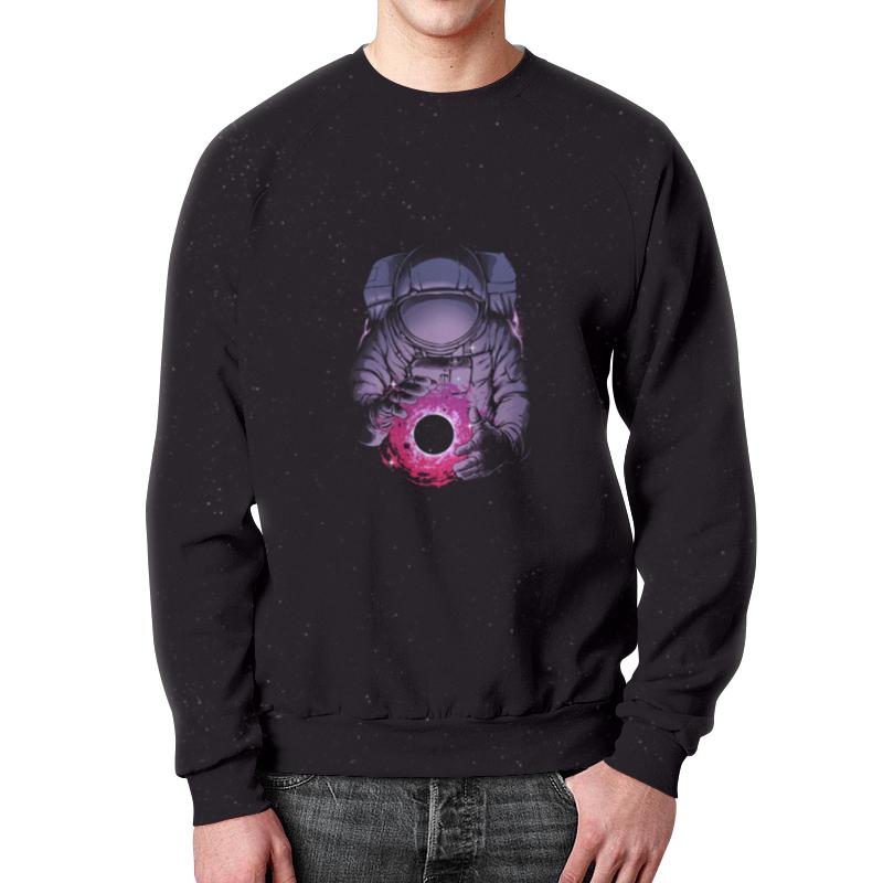 Свитшот мужской с полной запечаткой Printio Карманная вселенная цена
