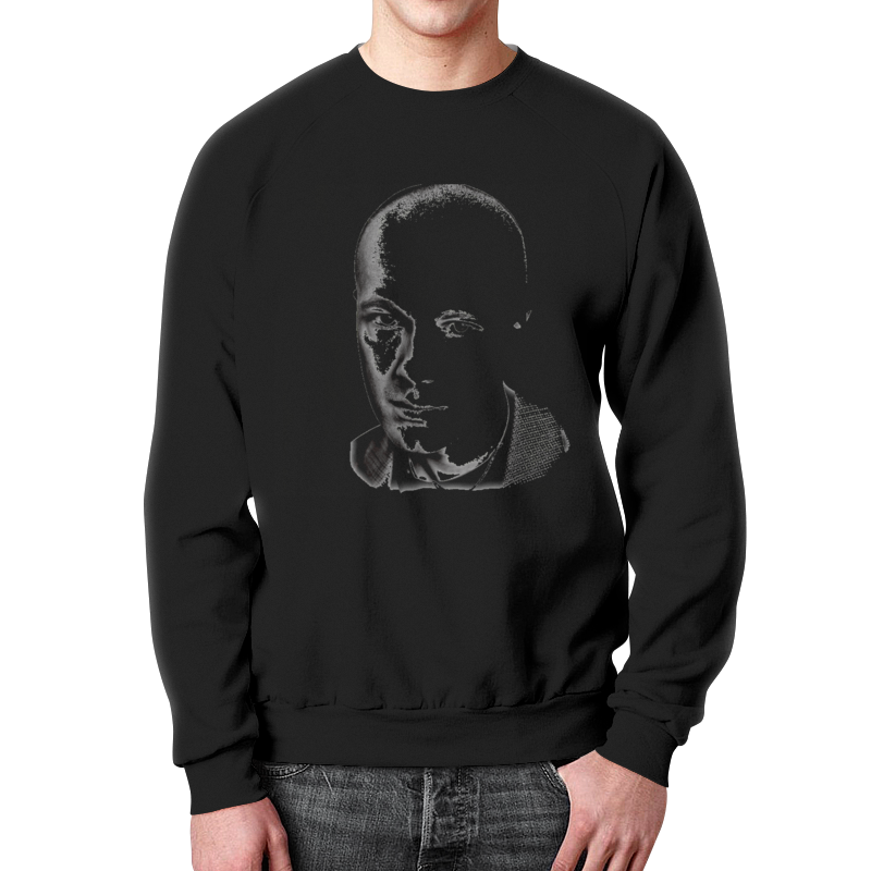 Свитшот унисекс с полной запечаткой Printio Гоша рубчинский.актер футболка гоша рубчинский цена оригинал