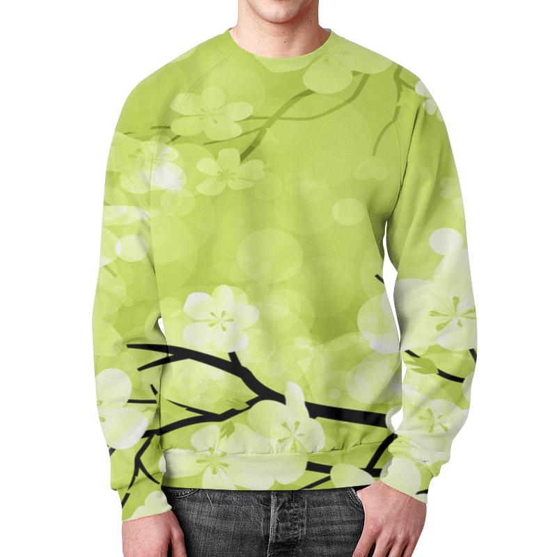 Свитшот мужской с полной запечаткой Printio Весна свитшот мужской с полной запечаткой printio воздушные шары